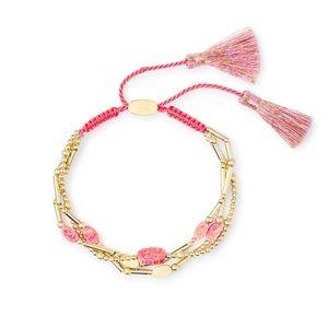 Kendra Scott Pink Opal Bracelet